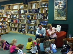 Lucy Daniels  at Quail Ridge Books
