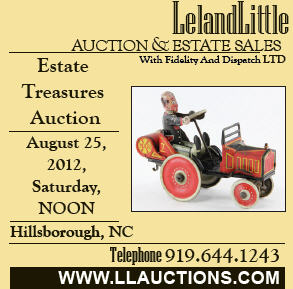 Leland Little Auction August 25 2012