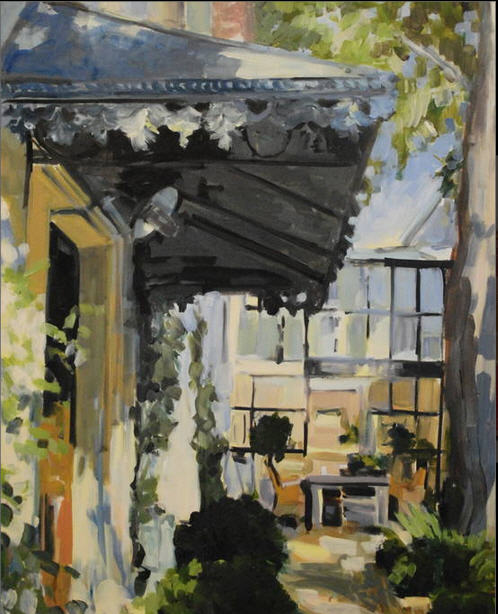 Shubert - French Courtyard with awning