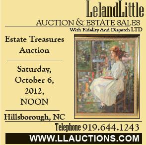 Leland Little Auction Oct. 6 2012