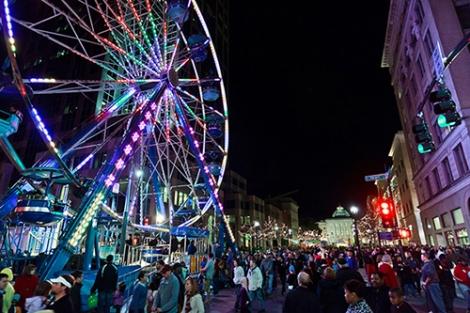 First Night Ferris Wheel