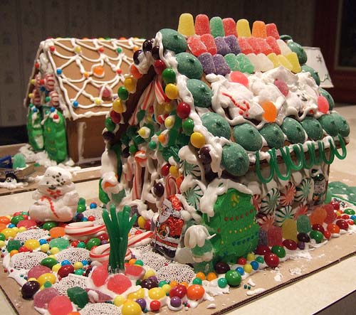 Gingerbread Houses Carolina Inn