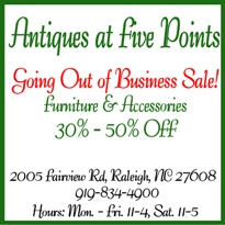 Antiques at Five Points