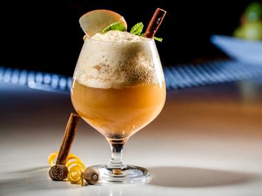 Ginger Bourbon Apple Cider
