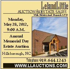 Leland Little Auction May 28 2012