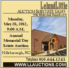 Leland Little Auction May 28 2012