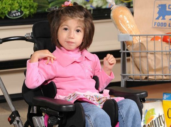 Mia, 2013 Representative, Easter Seals