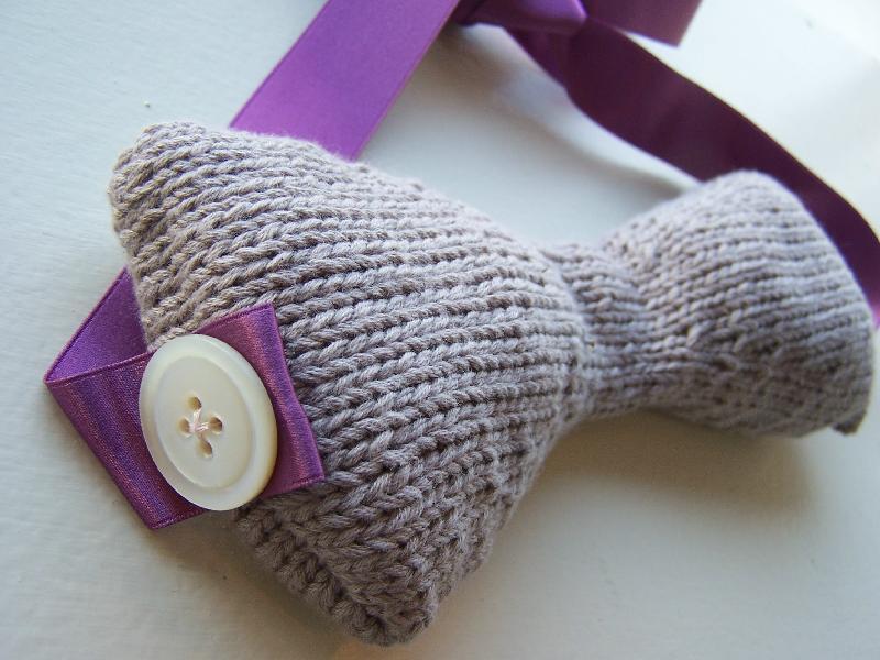 Lavender Eye Pillow (detail)