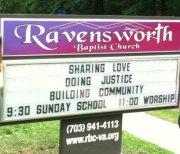 ravensworth message sign