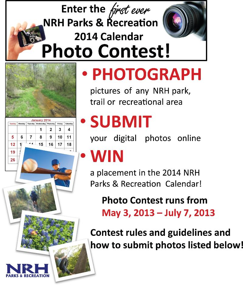 Calendar Photography Submissions : Calendar photo contest for nrh parks