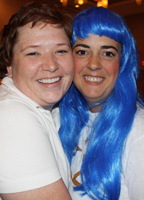 blue hair lamb