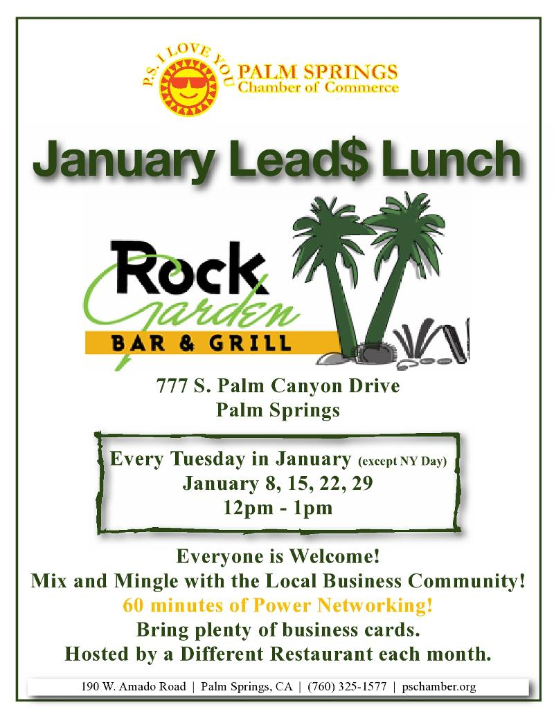 Lead$ Lunch January 2013