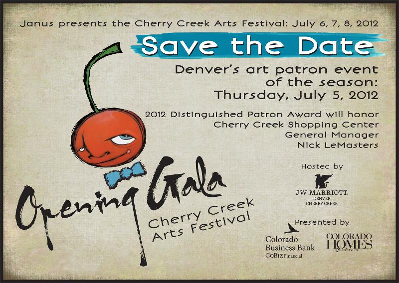 2012 Gala Save the Date
