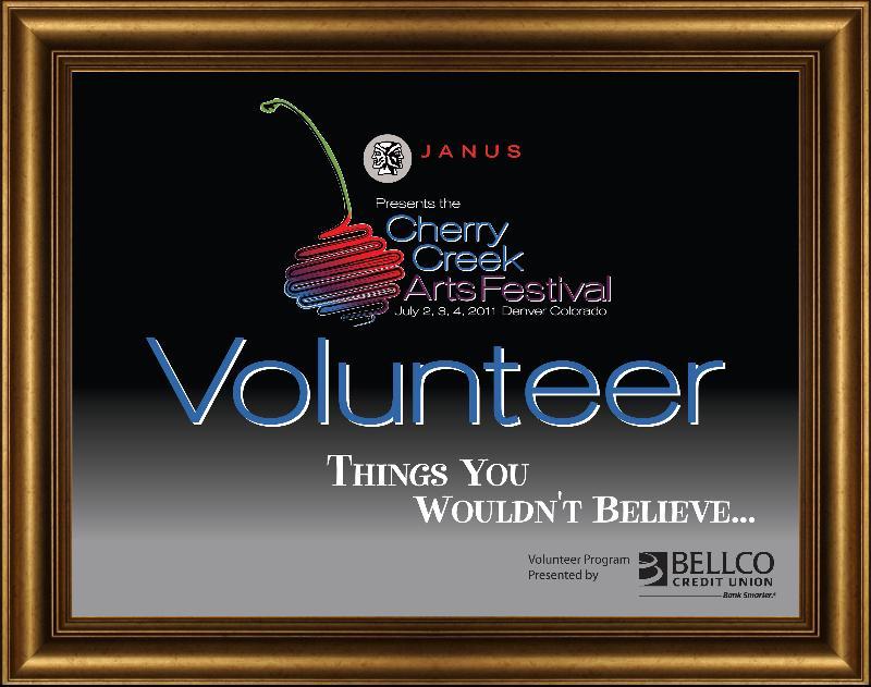 2011 volunteer