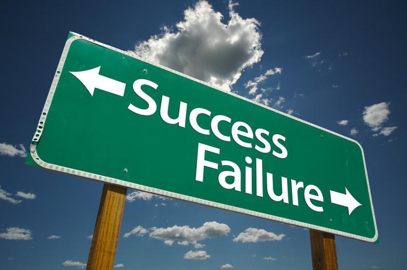 Success/Failure Sign