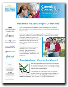Caregiver Connections Print Edition