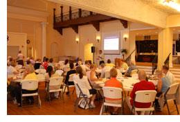 St. Augustine workshop in 2010