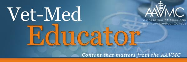 AAVMC Vet Med Educator banner