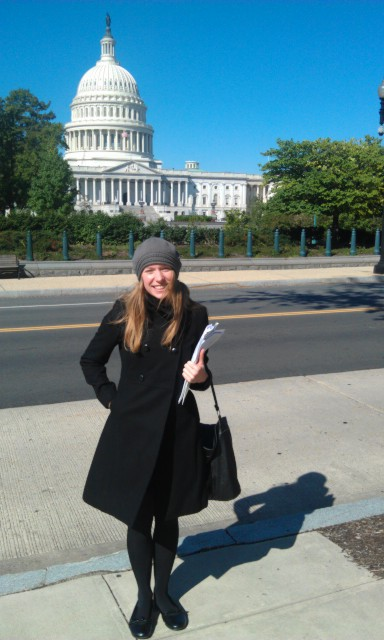 Rayne in Washington DC