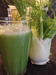 Apple Fennel juice