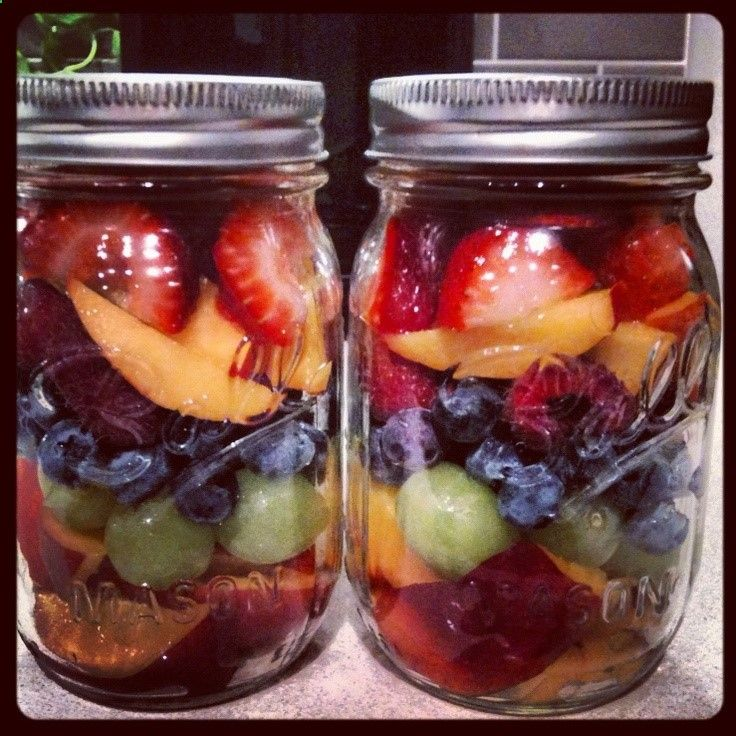 Fruit Cup in a Jar