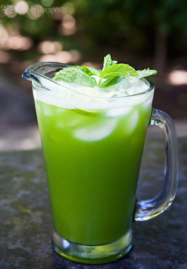 Cucumber_ lime_ mint aqua fresca
