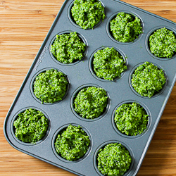 Combine Laguna Farm's kale with basil to make a unique pesto.