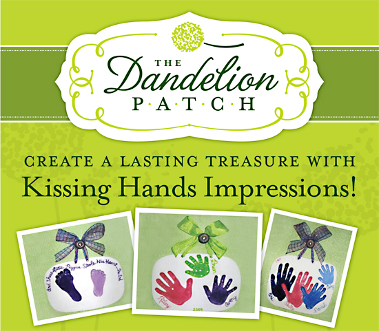 Create a Lasting Treasure with Kissing Hands Impressions!