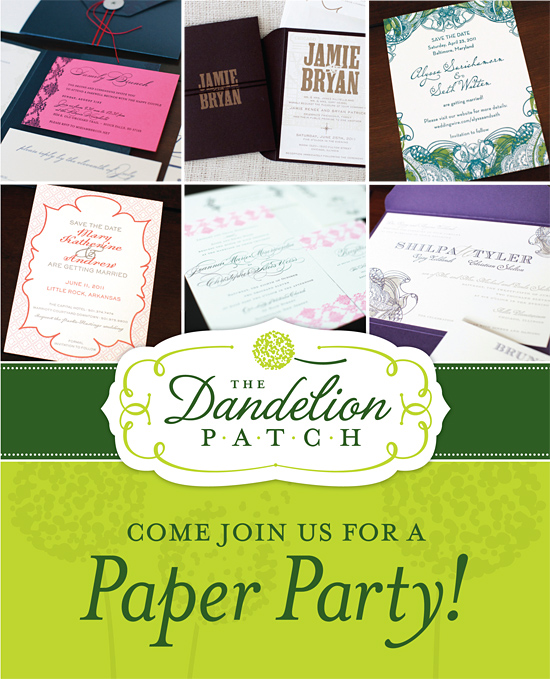Join Us for a Paper Party!