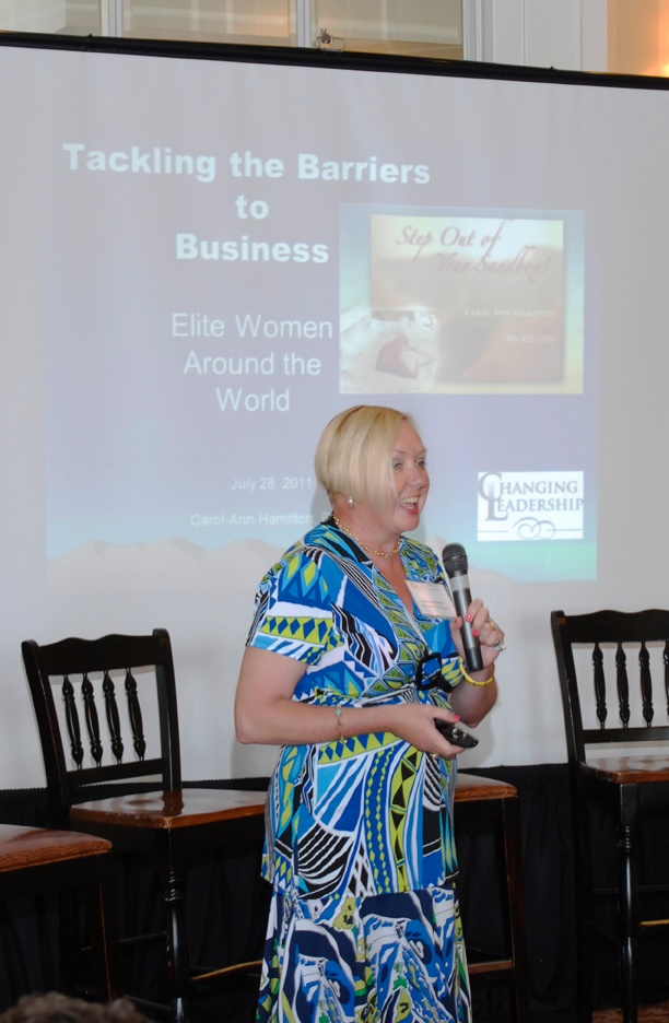 Carol-Ann Tackling the Barriers to Business