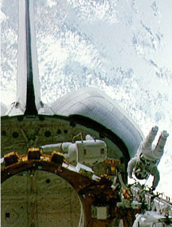 First spacewalk of the space shuttle era by Story Musgrave