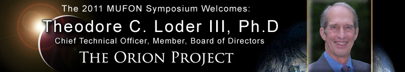 Dr Ted Loder_Orion Project_Banner
