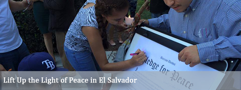 Lift Up the Light of Peace in El Salvador