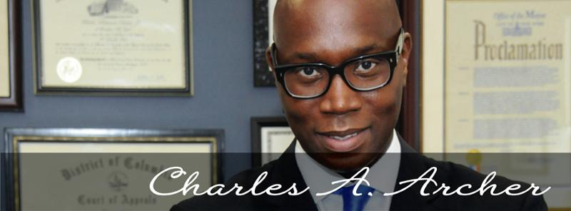 Banner with Charles