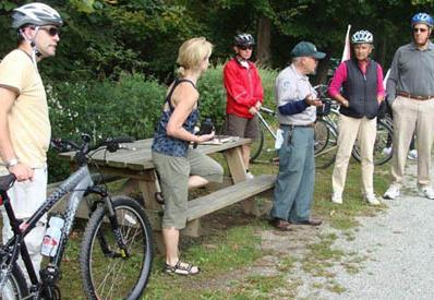 leisurely bike tours