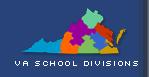 Virginia school division map