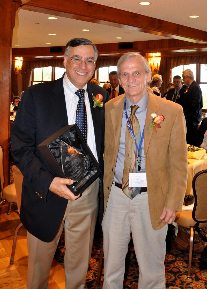 Lewis Kramer, Urbach Award Recipient and Doug Sauer, CEO, NYCON