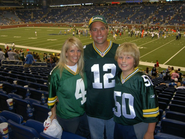 Ken, Melissa and Kyle Kutchek
