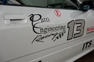 Patti Eng Race Car