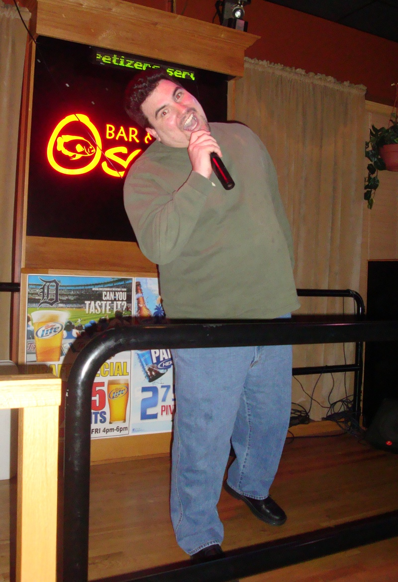 Ryan Hibbert karaoke