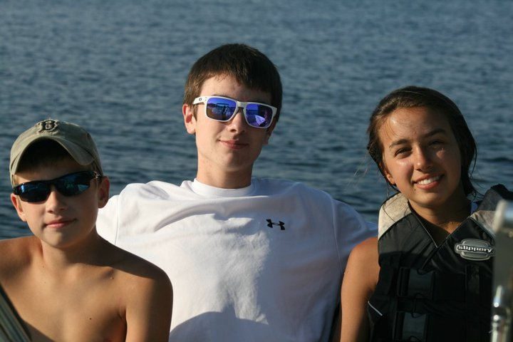 Scottie, Brendon and Caroline