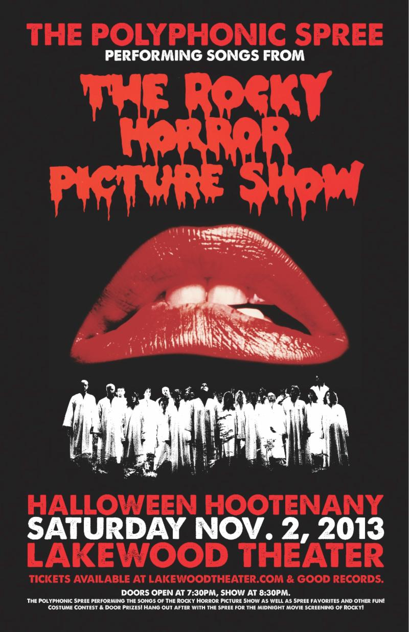 on sale now! rocky horror halloween hootenanny and xmas holiday