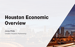 Greater Houston Partnership Presenation Cover