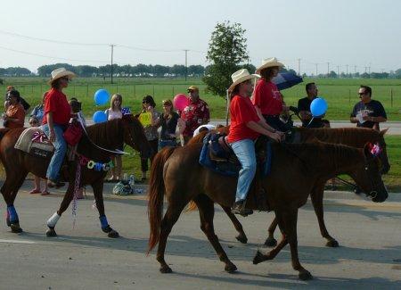 Horses in Parade