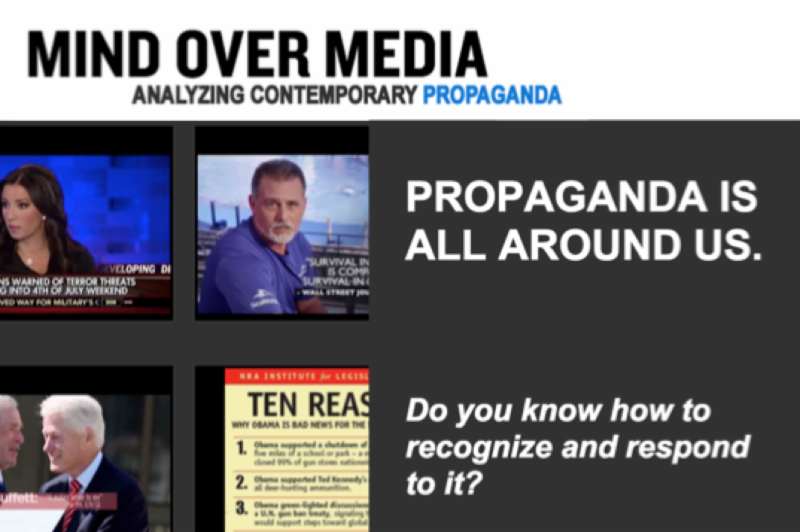 media analysis of propaganda An analysis of propaganda bots on twitter background wait, what are political propaganda bots in the first place political propaganda bots are semi-automated or.