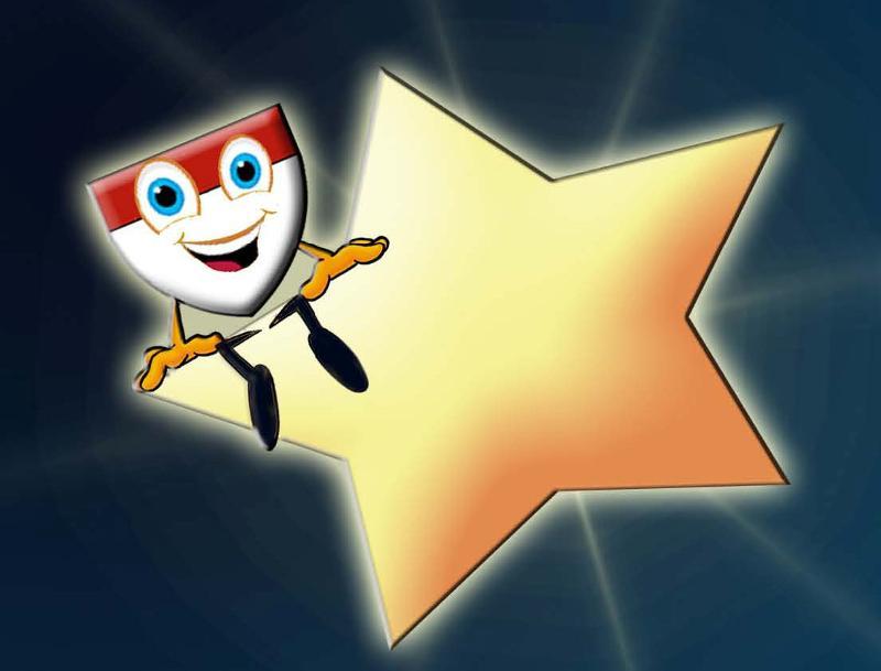 celebration with stars