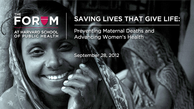 Maternal Health Forum
