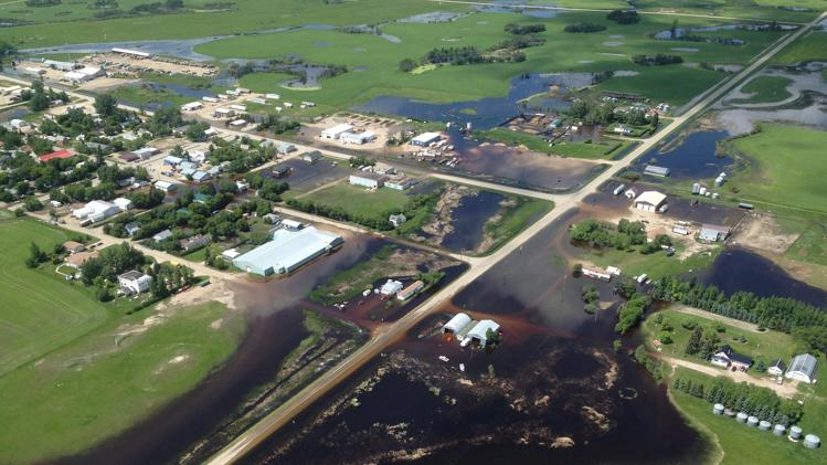 Alida Flooded, July 2014
