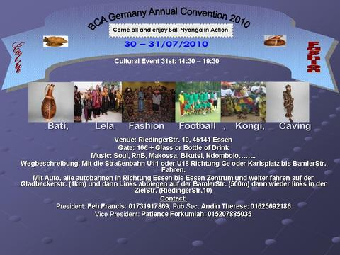 BCA Germany Convention