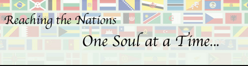 Reaching the nations one soul at a time